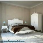 Set Kamar Tidur Duco Putih Jepara