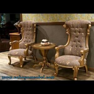 Set Kursi Teras Indoor Mewah Klasik