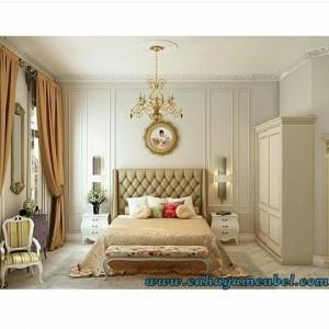 Kamar Set Minimalis Modern Duco Putih