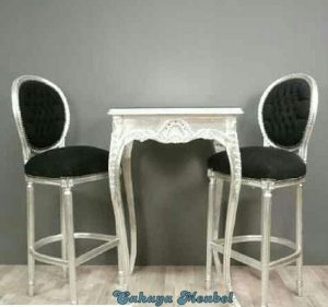 Set Kursi Klasik Putih Duco