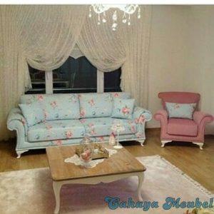 Set Sofa Tamu Shabby Mewah Duco