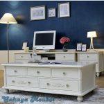 Meja Laci Minimalis Putih