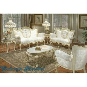 Set Sofa Ruang Tamu French Furniture Jepara