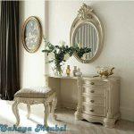 Meja Rias Klasik Putih Duco Jepara