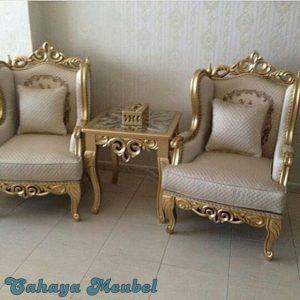 Set Kursi Tamu Indoor Klasik Gold Jepara