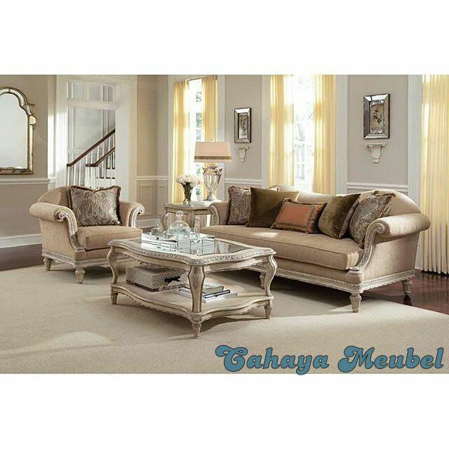 Set kursi sofa tamu klasik mebel duco cahaya mebel jepara for Sofa klasik