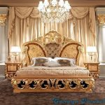 Tempat Tidur Mewah Klasik French Ukir Jepara