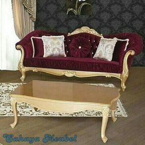 Sofa Tamu Klasik Mewah