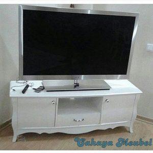 Bufet Tv Cat Duco Putih