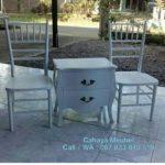 Kursi Tiffany Teras Putih Duco