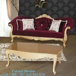 Sofa Ruang Tamu Klasik Mewah