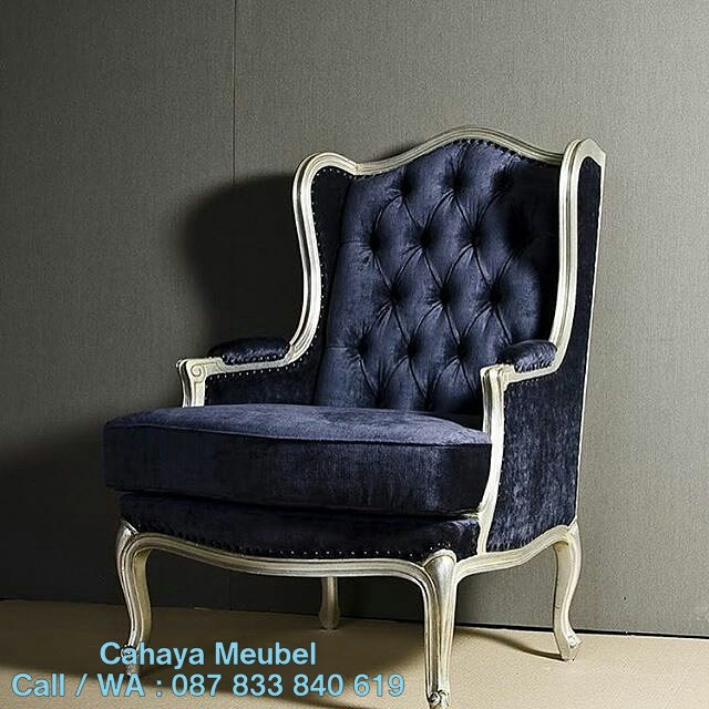 Kursi Sofa Wing Chair Minimalis