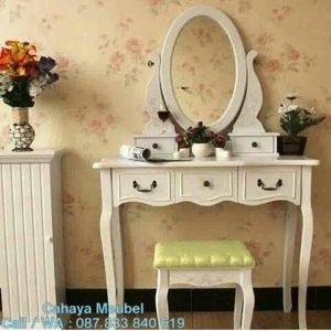 Meja Rias Minimalis Warna Putih