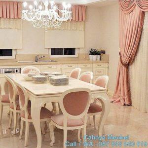 Set Kursi Makan Shabbychic Style Duco