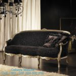 Sofa Tamu Mewah Klasik Ukir