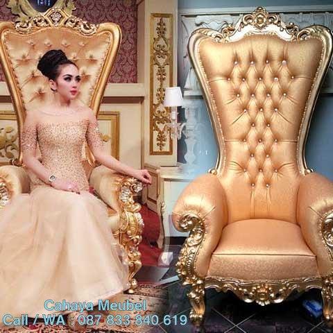 Kursi Sofa Syahrini Mewah Classic