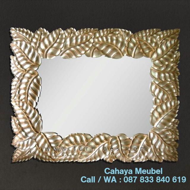 Pigura Cermin Ukiran Jepara Klasik Mewah