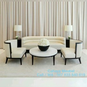 Set Sofa Tamu Minimalis Jepara