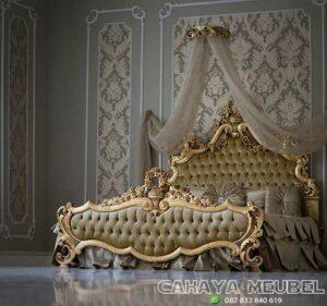Tempat Tidur Mewah Kayu Ukir Jepara
