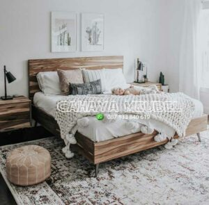 Tempat Tidur Minimalis Terbaru Kayu Jati