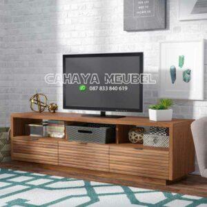 Meja Tv Kayu Jati Dhapin