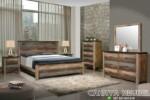 Kamar Tidur Minimalis Rustic
